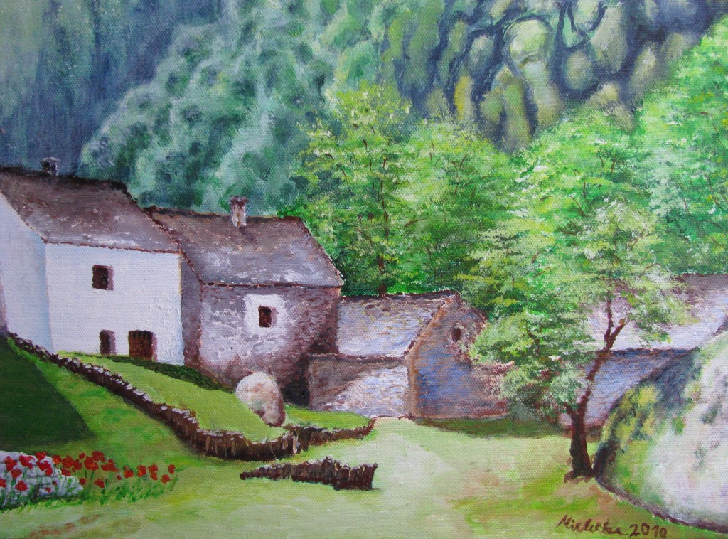 Altes Dorf im Tessin