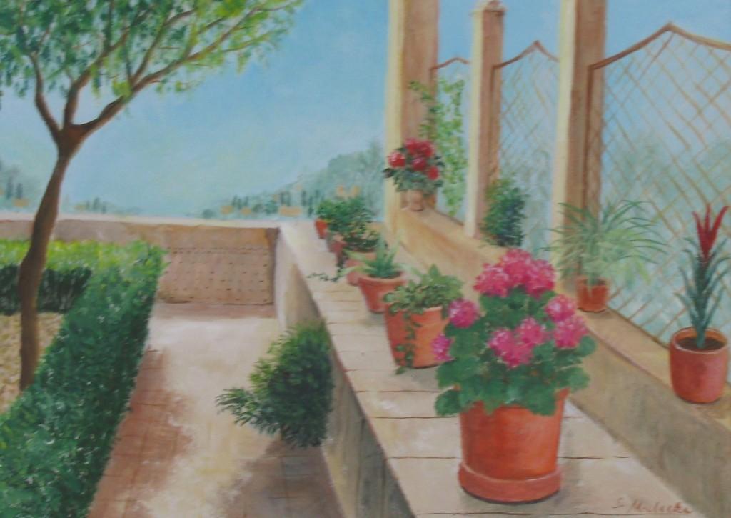 Garten in Valdemossa