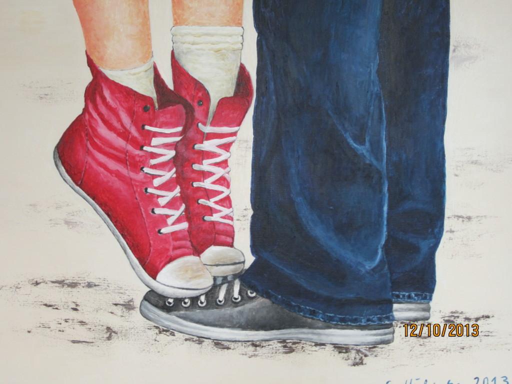 2 paar Schuhe