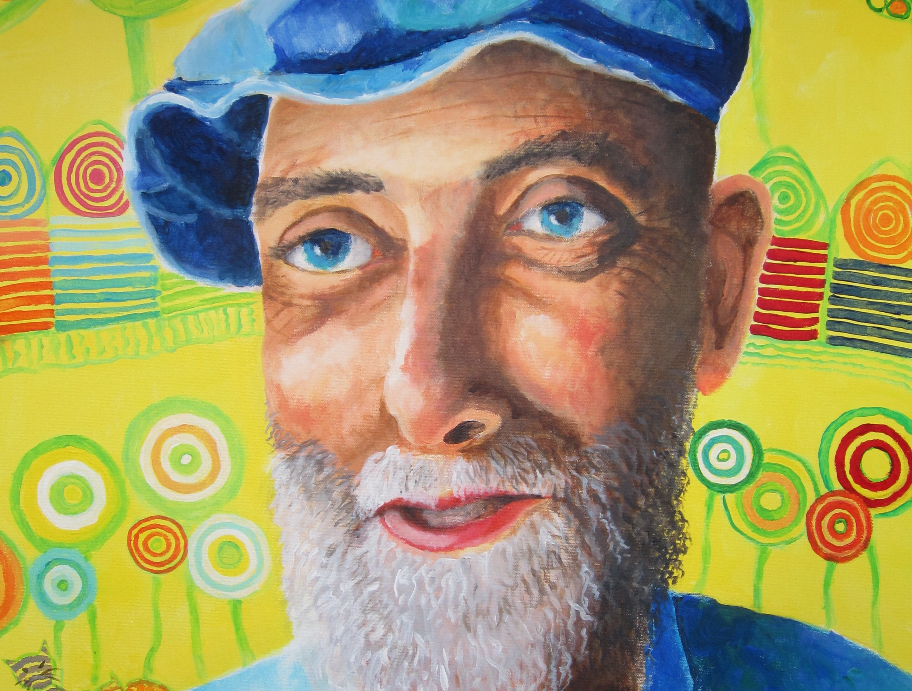 Portrait Hundertwasser